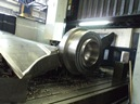 News : CNC Portal machining center : 3D machining of Kaplan turbine blades