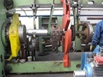 Components for rail program : Overhauling of wheelsets