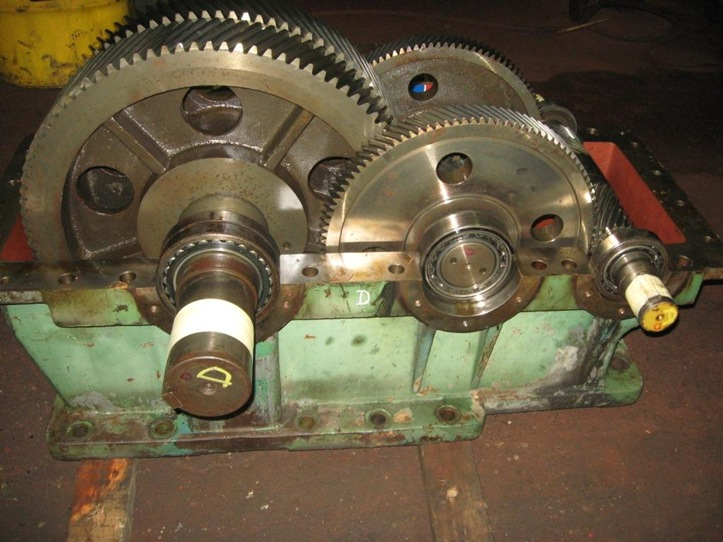Oil explotation program : The overhaul service of gearboxes for depth oil pumps