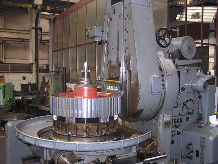 Slotting machines for cylindrical gears : Slotting machines for cylindrical gears